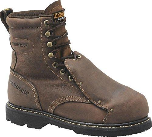 Carolina CA5502 8 Inch Waterproof Steel Metguard Boot
