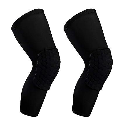 e9222594cb WYHTB Basketball Knee Pads for Kids Adults,Compression Leg Long Sleeve  Crash Proof,Knee