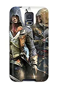 samuel schaefer's Shop Best 8836520K38192587 High Quality Shock Absorbing Case For Galaxy S5-assassin's Creed Unity Poster