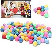 50/100/200PCS table tennis balls bulk colored - Bulk Ping Pong Balls Multi-Color Beer Pong Balls Washable Plas