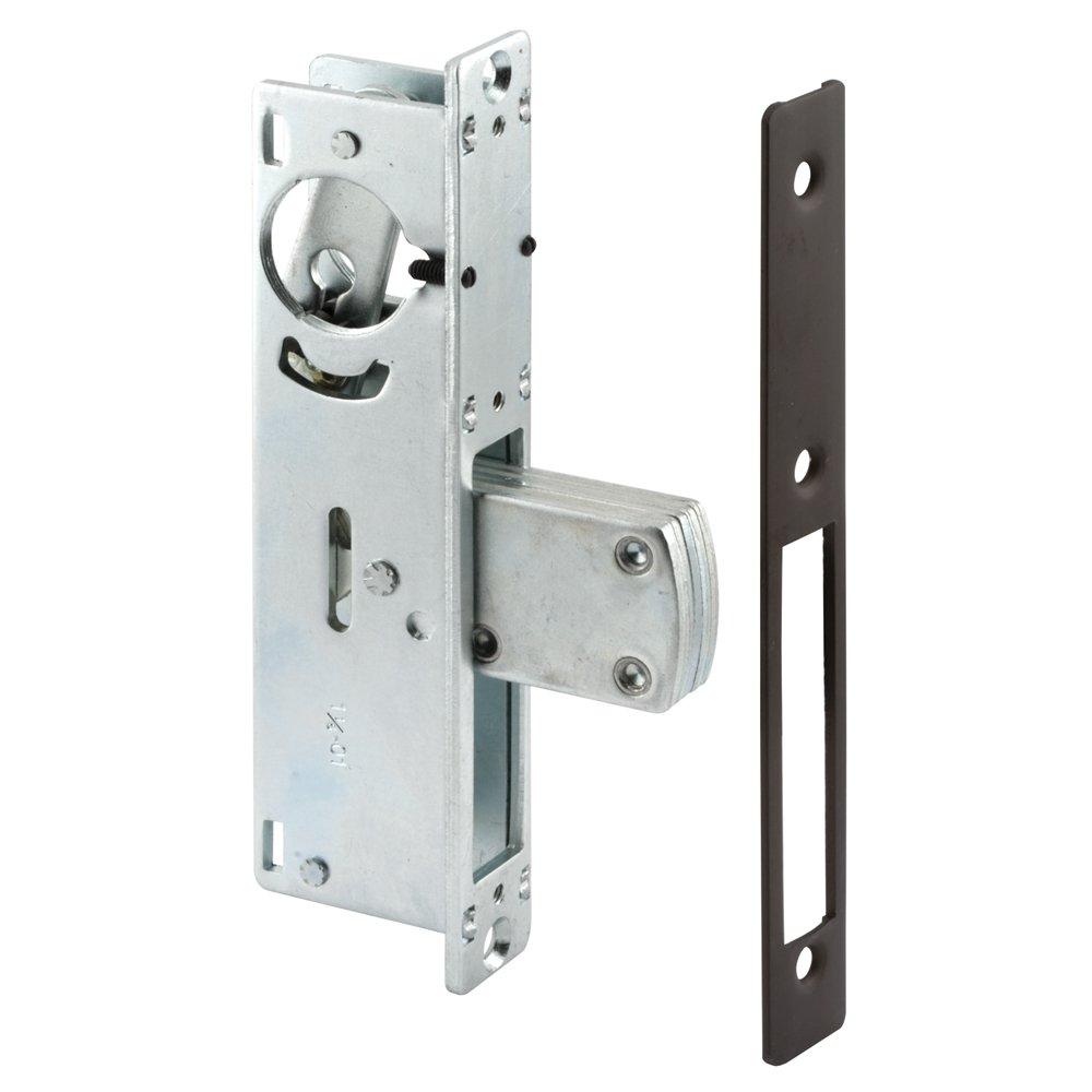Prime-Line J 4527 Entry Door Deadbolt Lock, 1-1/8 Backset, Anodized Bronze Finish, Pack of 1