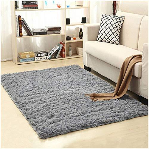 Mon Moira Alfombra Suave para Interiores y Modernas, Ideal para decoración de dormitorios y guarderías, Gris, 3.2'*5.2'