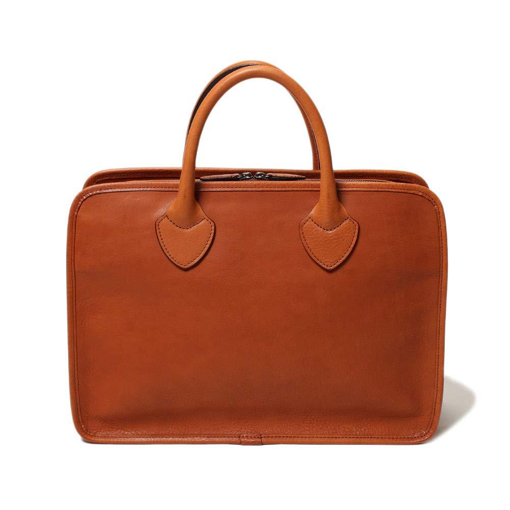 SLOW TRADITIONAL bono classic briefcase Oak   B07GKQ8KFF
