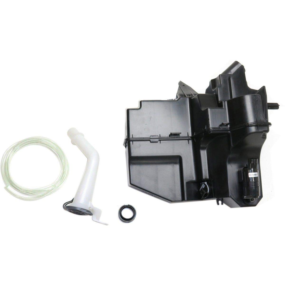 New Windshield Washer Tank For 2013-2018 Nissan Altima, 2016-2018 Maxima Assembly, With Pump, Inlet/Cap/Sensor, Without Navigation System NI1288165 289109HM0A