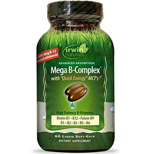 Advanced Absorption Mega B-Complex with Quick Energy MCT by