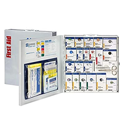 Xpress First Aid 50 Person Large Metal SmartCompliance First Aid Cabinet Without Medications by Acme United