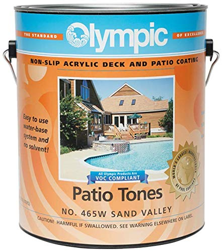 Olympic Patio Tones Deck Coating - Sand Valley - 12 ()