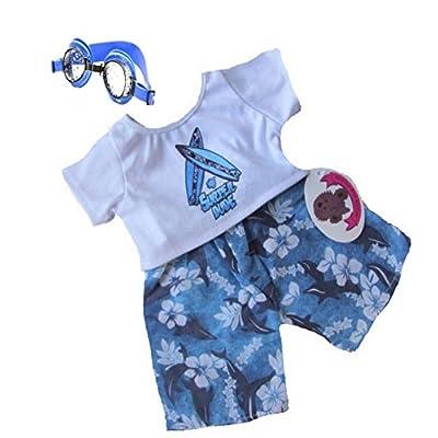 Build your Bears Wardrobe construire votre Ours Armoire 5060322140384Ours en peluche Vêtements, Bleu