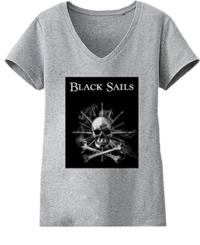 Black Sails Series Damen V-neck T-shirt