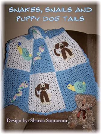 Snakes and Snails and Puppy Dog Tails baby afghan crochet ...