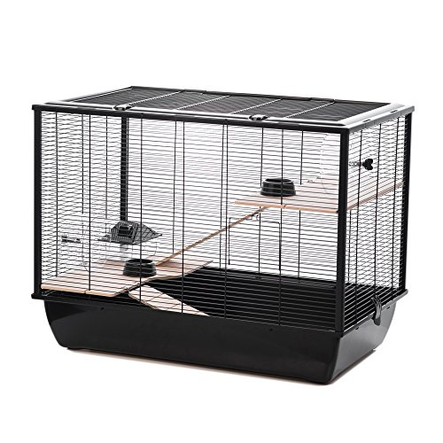 Little Friends Langham Tall Rat and Hamster Cage with Two Floors, 77 x 47 x...