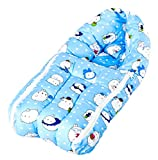 Baybee Baby Comfo Sleeping cum Carry Bag (Mixed Print - Blue)