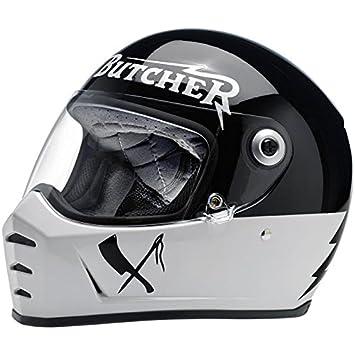 Biltwell Lane divisor oxidado carnicero casco de la motocicleta (más opciones de tamaño)