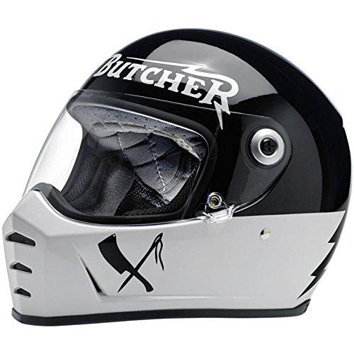 Biltwell Lane Splitter Rusty Butcher Motorcycle Helmet X-Small (More Size...