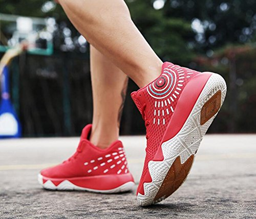 43 Slip HUAN Basketball for Sneakers Athletic Men's Size Shoes Shoes Ankle High Athletic Non B Boots Color Shoes Top Booties qZHrR1wq