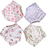 BBPIG Potty Training Pants for Baby and Toddler Girls, Baby Underwear 4 Pack (80(12-18months), G4): more info