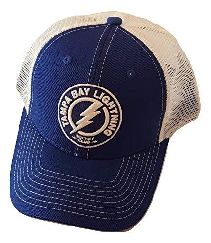 Zephyr Tampa Bay Lightning Cap Structured Mesh Snapback Hat