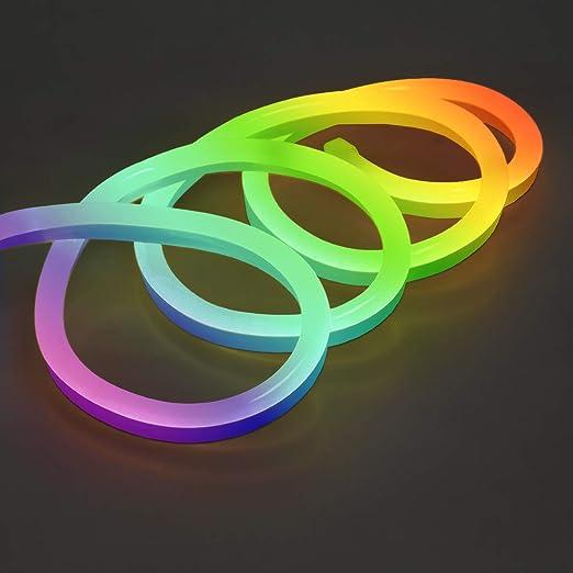 LED Streifen 12V 2835 RGB Licht Strip Leiste 60LEDs//m Wasserdicht+Fernbedienung