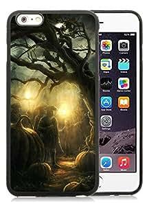 Diy Design iPhone 6 Plus Case,Halloween Horror Nights Black iPhone 6 Plus 5.5 TPU Case 2