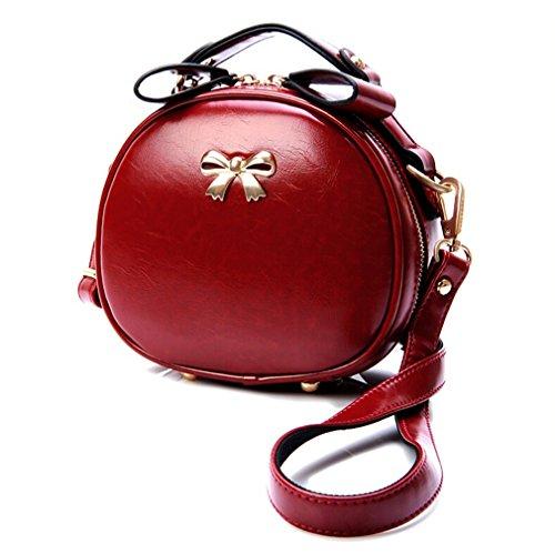 Vintage Paris Lo'la Handbag with Sling (Purple) - 1