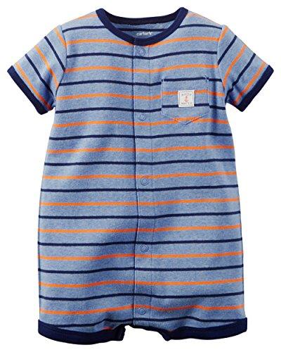 Carters Baby Stripe Pocket Romper