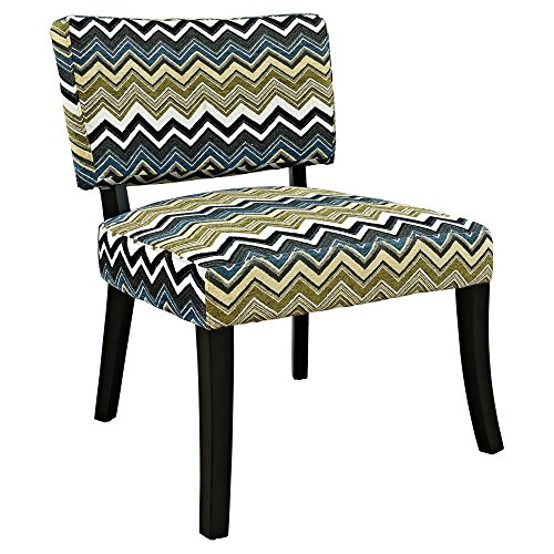 powell-furniture-zig-zag-armless-chair-black