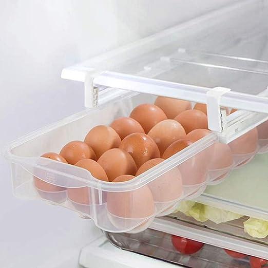 Cajones para huevos de nevera, para refrigerador, extraíbles, con ...