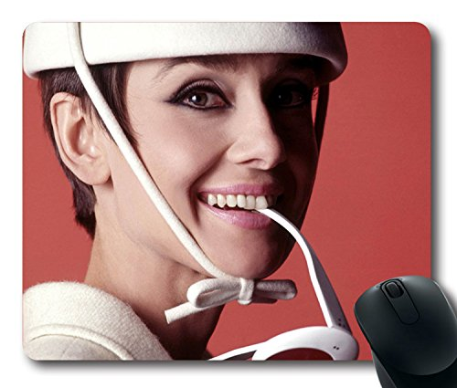 [Custom Gaming Mouse Pad with audrey hepburn nicole how to steal a million teeth 351 Non-Slip Neoprene Rubber Standard Size 9 Inch(220mm) X 7 Inch(180mm) X 1/8 Inch(3mm) Desktop Mousepad Laptop Mousepads Comfortable Computer Mouse] (Teeth Movie Online)