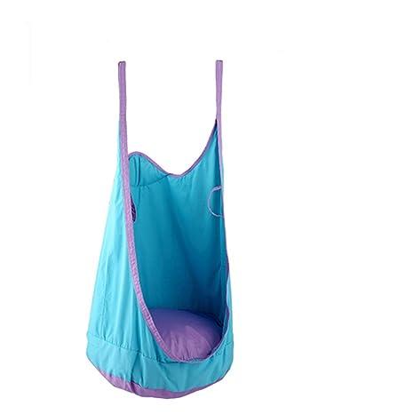 PRIT Hamaca para Niñas, Silla Colgante Asiento Mecedora Columpio Interior y Exterior, Kit de