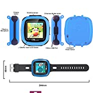 "Kidaily Game Smart Watch for Kids, 1.5 ""Camera Touch Screen with 10 Game,Timers,Pedometer,Alarm,Sport Health Activity Fitness Tracker for Boys Girls"