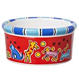 Signature Housewares Run Spot Run Dog Bowl, Small, My Pet Supplies