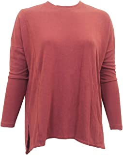 product image for Hard Tail Forever Luxe Long Sleeve Womens Slouchy Tee Shirt Style CREP-26