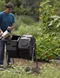 Dual Batch Compost Tumbler 100% Recycled Plastic Outdoor Compost Bin