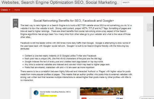 Websites, Search Engine Optimization, Social Marketing & Tech