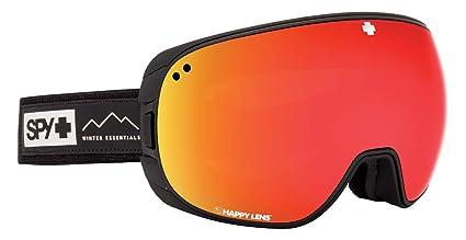 eedc7ca2aa5 Spy Optic Bravo Af Essential Black-Happy Gray Green W Red Spectra+Happy