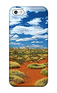 Nafeesa J. Hopkins's Shop 3861554K74994574 Snap On Case Cover Skin For Iphone 5/5s(old Spinifex Rings Little Sandy Desert Australia)