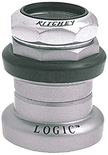 Ritchey Logic Threaded Headset, 1-1/8-Inch, Silver