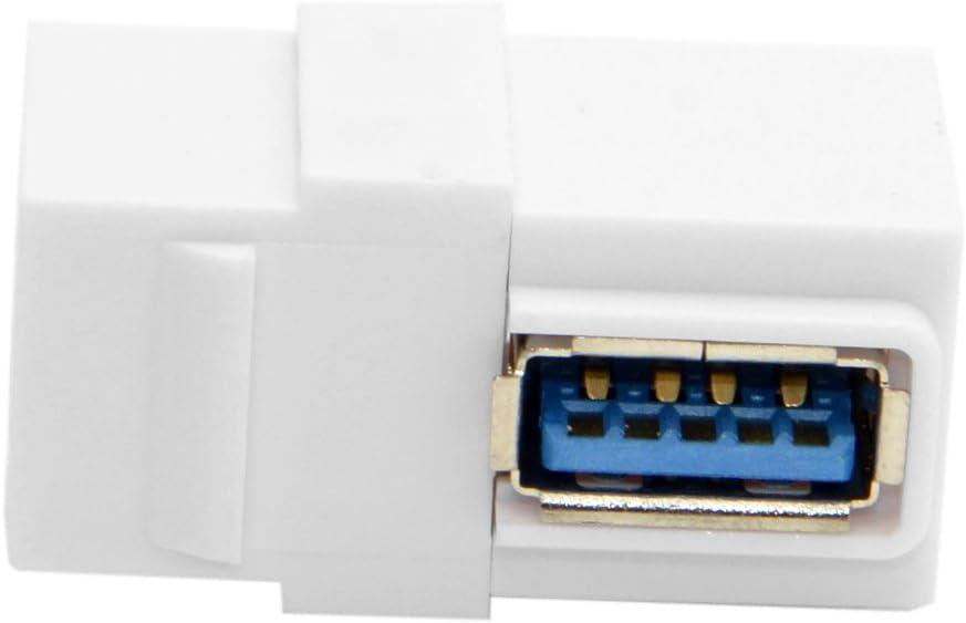 Screw Mini USB 5 Pin Male to USB 2.0 B Female Jack New Arrival Gimax Printer Panel Mount Cable