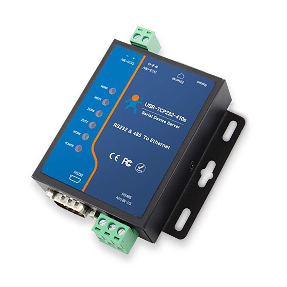 Convertidor Serial Rs232 Rs485 A Ethernet Tcp/ip Modbus Dhcp