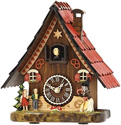 Hermle Hansel Gretel Tabletop Quartz Cuckoo Clock 65000 Manufactured by Trenkle Uhren
