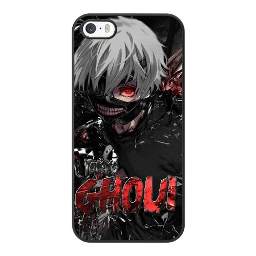 Coque,Apple Coque iphone 5/5S/SE Case Coque, Generic Anime Tokyo Ghoul Keren Cover Case Cover for Coque iphone 5 5S SE Noir Hard Plastic Phone Case Cover