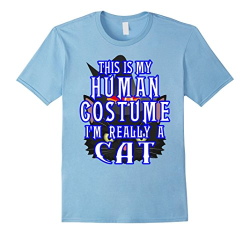 Mens Cat Witch Halloween Costume T-Shirt Humor Tee Men Boys Girls Small Baby (College Humor Halloween Ideas)