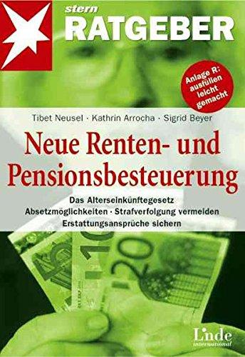 Neue Renten- und Pensionsbesteuerung