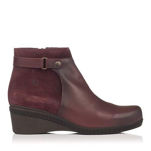 22bbe7680b9 YOKONO LOIRA-013 Botin Combinado CUÑA Mujer: Amazon.es: Zapatos y ...