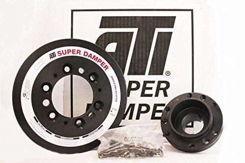 (ATI Super Damper Crank Pulley Toyota Supra MK4 2JZGTE 2JZ-GTE JZA80 918562)