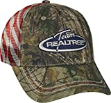 Realtree Adjustable Closure Americana Mesh Back Cap, Xtra Camo