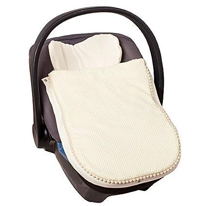 Sevira Kids-Saco de abrigo para carrito o en la silla de coche de algodón