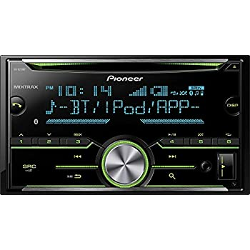 Pioneer FH-X731BT 2-Din CD Receiver with Enhanced Audio Functions