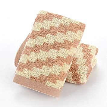 mmynl adultos toallas algodón lavar cara agua absorción toalla 75 x 35 cm: Amazon.es: Hogar