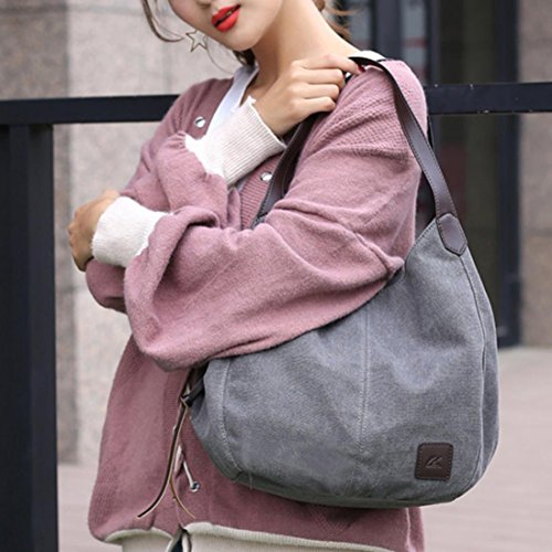 Female Tote Shoulder Bag Handbags Bags Single ❤️ High Messenger Handbags Bag Canvas Vintage Sale Quality Clearance Women Xinantime Hobos CnFF6qzZP